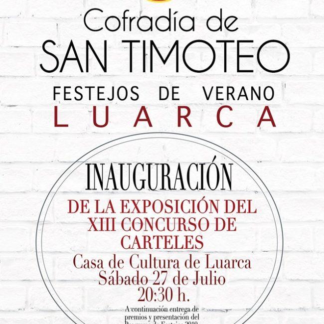 Inauguración de la exposición del XIII Concurso de Carteles