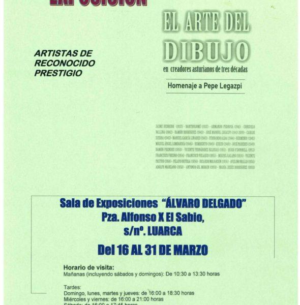 [APLAZADO] Exposición 'El arte del dibujo'
