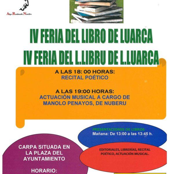 IV Feria del libro de Luarca