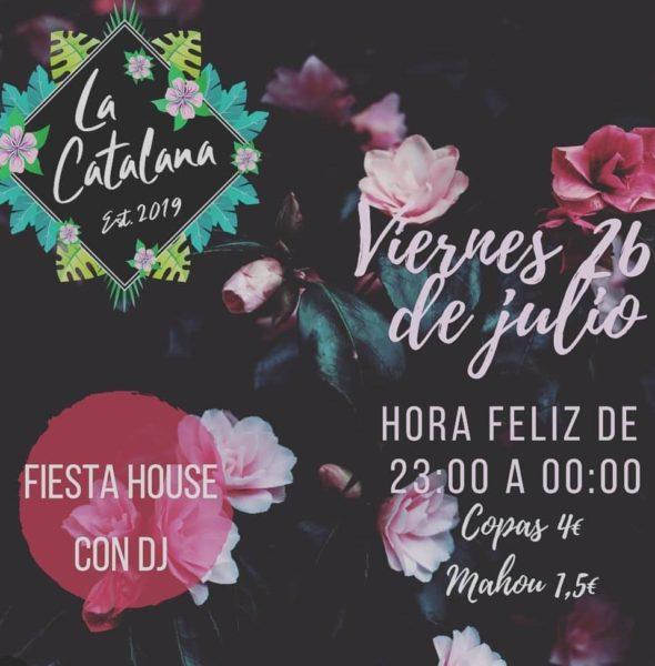 Fiesta House con DJ en 'La Catalana'