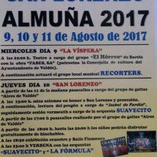 Fiestas de Almuña 2017