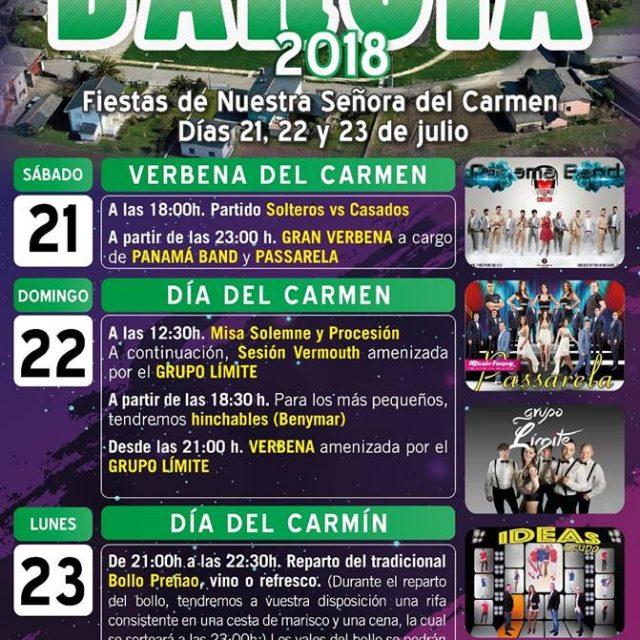 Fiestas de Barcia 2018