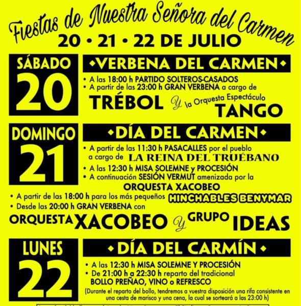 Fiestas del Carmen en Barcia