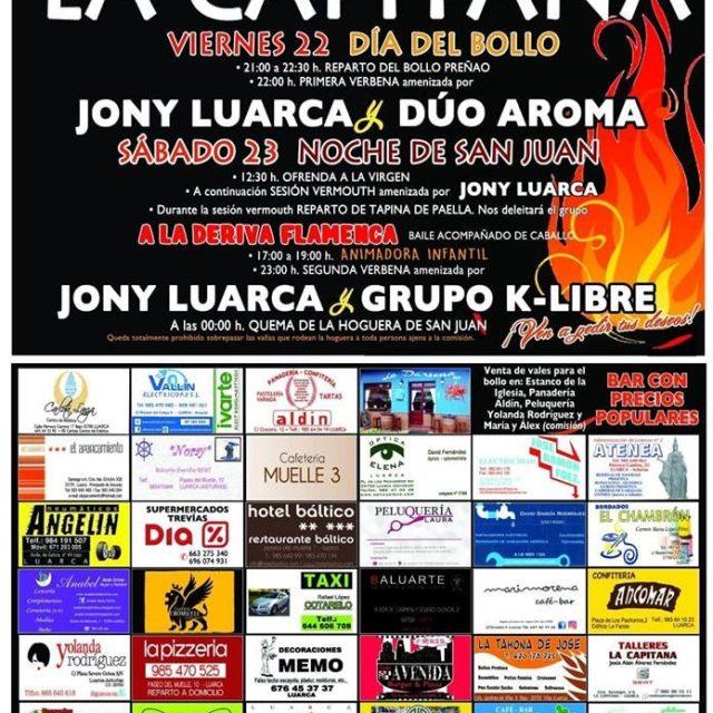 Fiestas de San Juan en la Capitana 2018