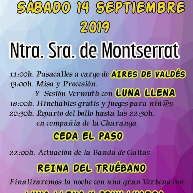 Fiestas de Ntra. Sra. Montserrat en Almuña