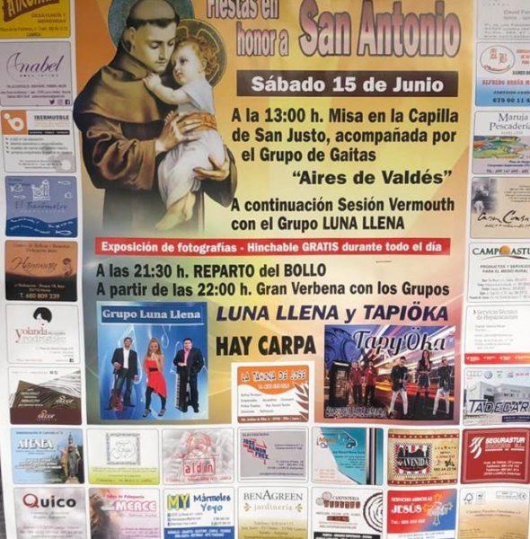 Fiestas de San Antonio en el Chano y el Otero