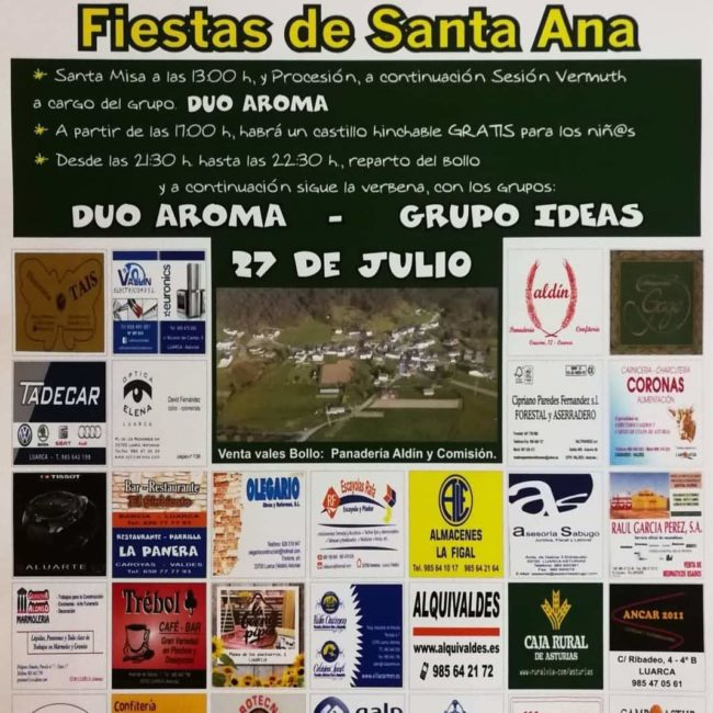 Fiestas de Santa Ana en Fontoria