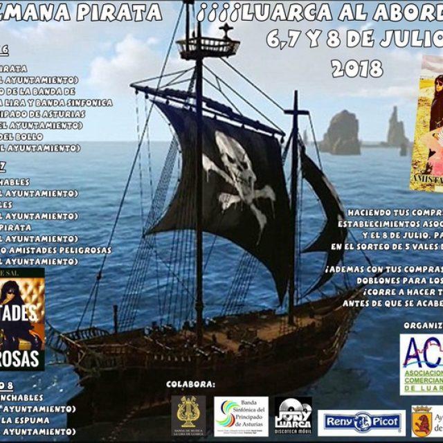 [CANCELADO] Fin de semana pirata 2018