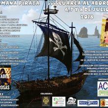 Fin de semana pirata 2018