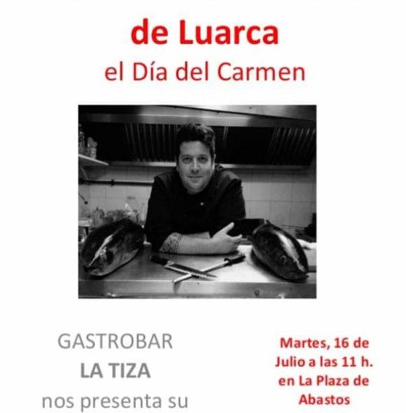 Día del Carmen en la Plaza de Abastos
