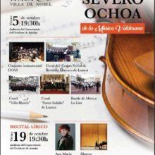 Homenaje a Severo Ochoa de la música valdesana