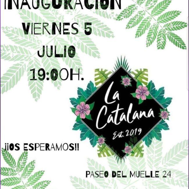 Inauguración de 'La Catalana'