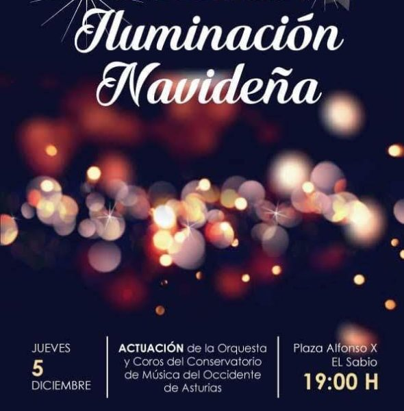 Inauguración de la iluminación navideña