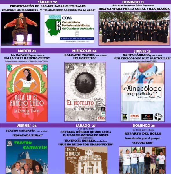 XXXIX Jornadas Culturales 'El Horreo' de Barcia