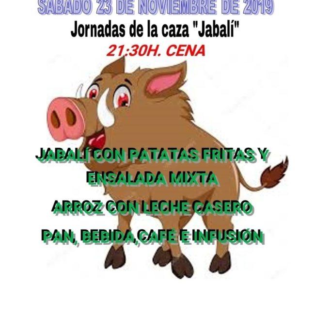 Jornadas de la caza 'Jabalí'