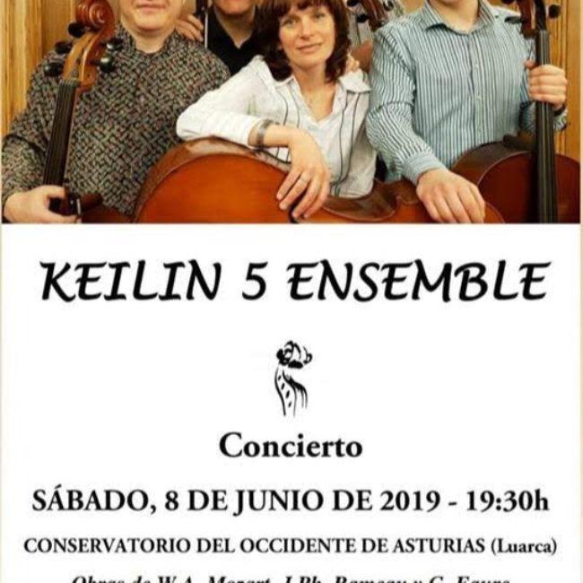 Concierto 'Keilin 5 ensemble'