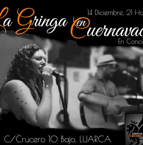 Concierto de La Gringa en Cuernavaca