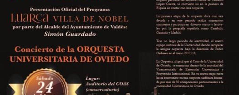 Luarca Villa del Nobel. Acto de inauguración