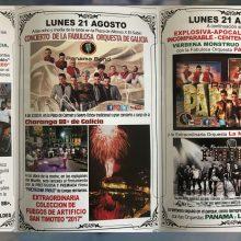 Fiestas de San Timoteo: Lunes 21 de Agosto