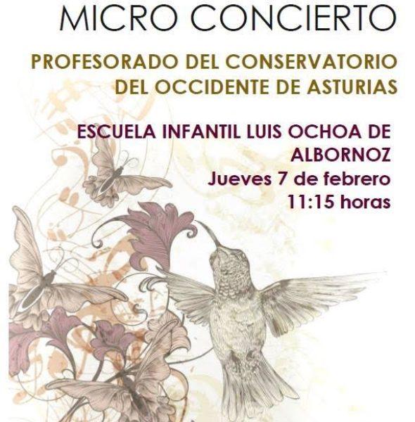 Microconcierto Profesorado del Conservatorio