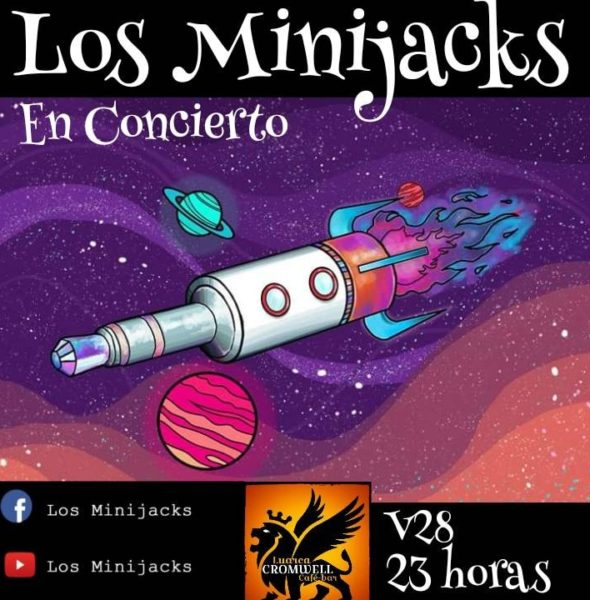 Concierto de Los Minijacks en el Cromwell