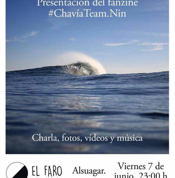 Presentación Fanzine #ChavíaTeam.Nin