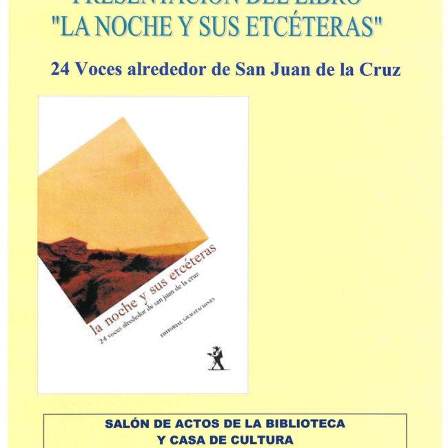 Presentación del libro 'La noche y sus etcéteras'