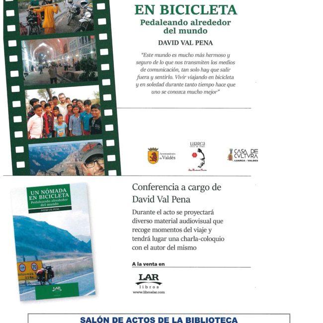 Presentación del libro 'Un nómada en bicicleta'