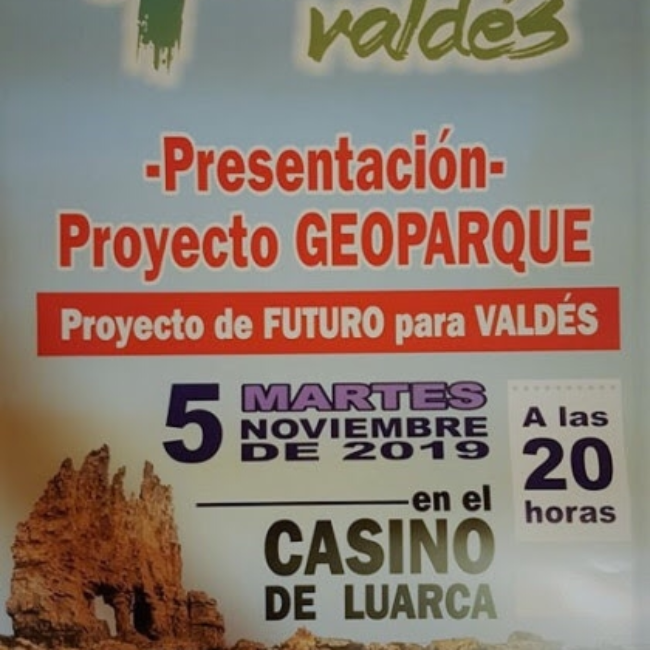 Presentación del Proyecto Geoparque