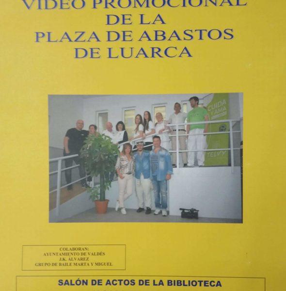 Presentación video promocional de la Plaza de Abastos