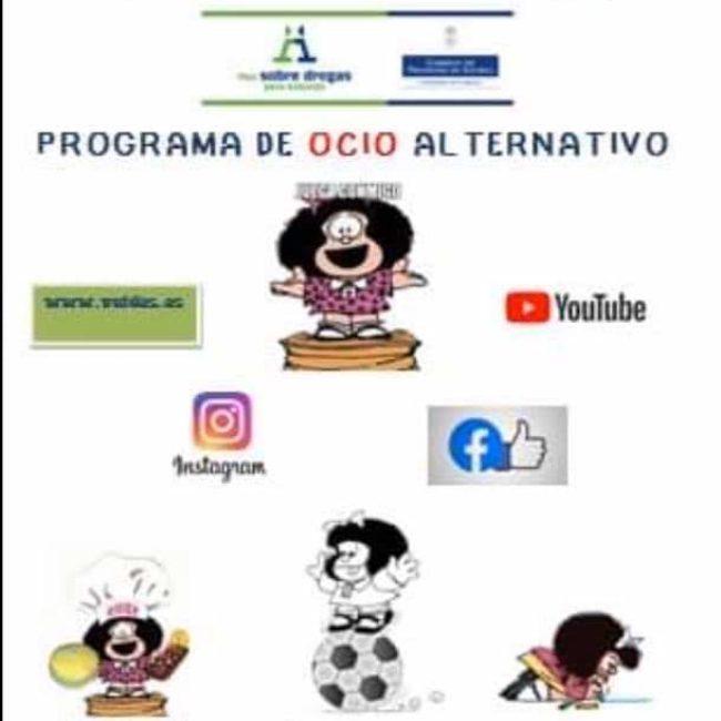 Programa de Ocio telemático durante confinamiento