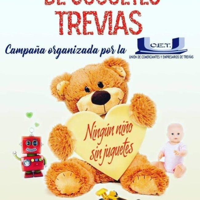 Recogida solidaria de juguetes en Trevías
