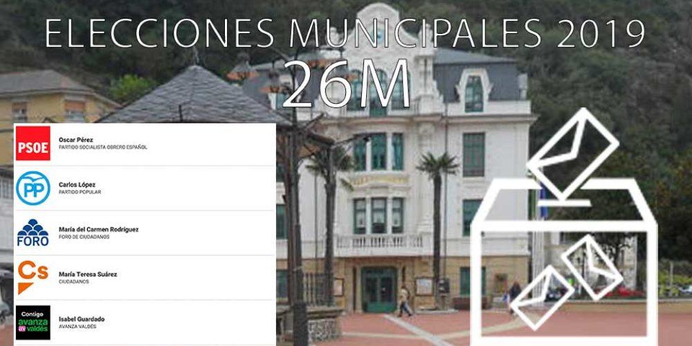 Resultados elecciones municipales 2019 en Luarca – Valdés