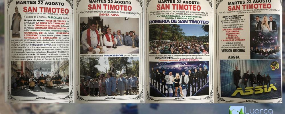 22 de Agosto: Día de San Timoteo