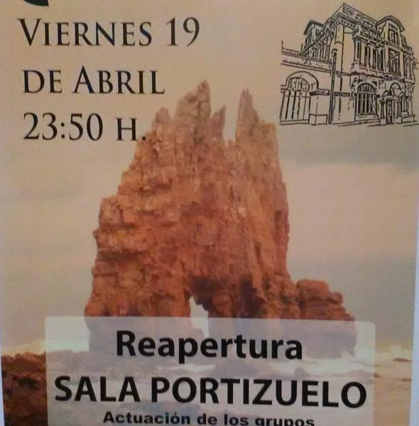 Concierto reapertura sala Portizuelo