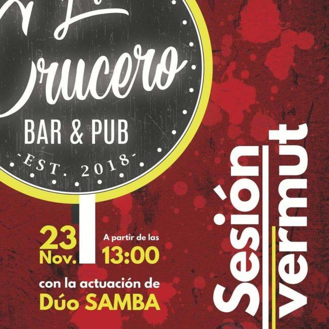 Sesión vermut con el Duo Samba