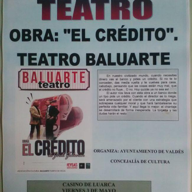"""Teatro: """"El crédito"""""""