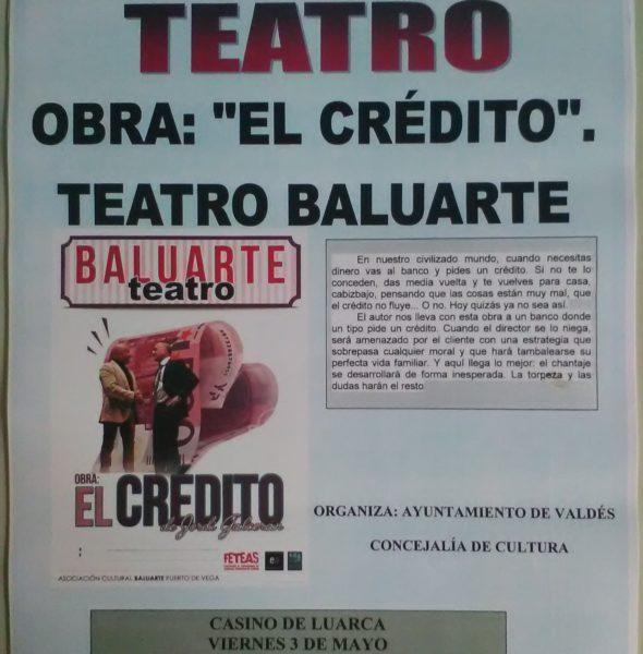 Teatro: «El crédito»