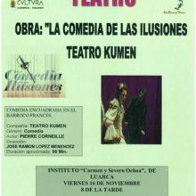 """Teatro: """"La comedia de las ilusiones"""""""