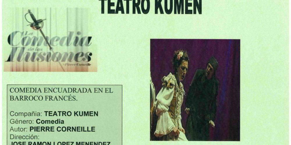 Teatro: «La comedia de las ilusiones»