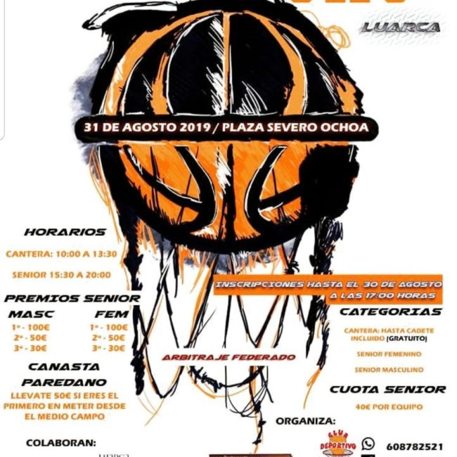 Torneo 3×3 Baloncesto Luarca