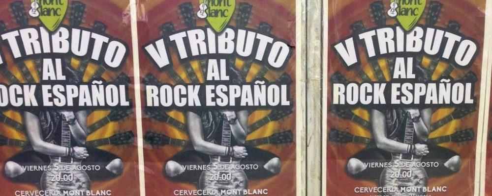 V Tributo al Rock Español en Luarca