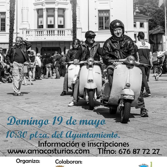 """VII reunión de motos clásicas """"Villa de Luarca"""""""