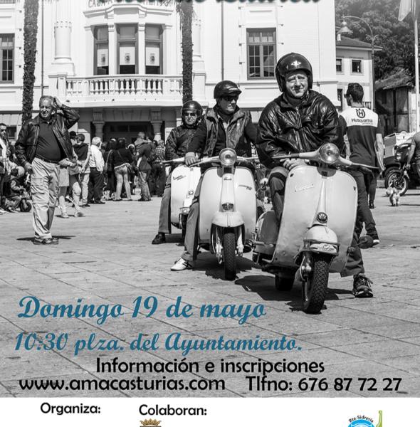 VII reunión de motos clásicas «Villa de Luarca»