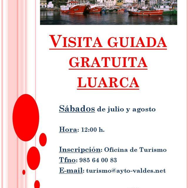 Visitas guiadas gratuitas por Luarca