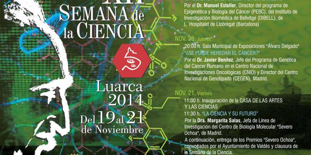 XII semana de la ciencia en Luarca