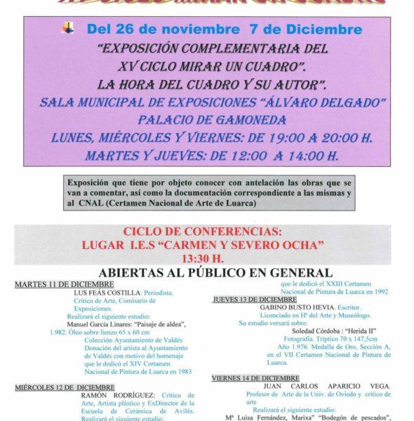 Conferencia sobre la obra de Manuel García Linares «Paisajes de Aldea»
