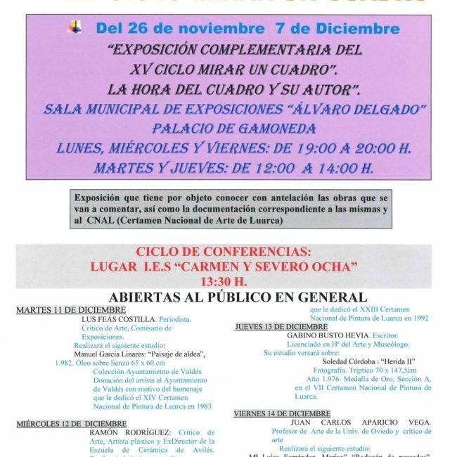"""Conferencia sobre la obra de Mª Luisa Fernández """"Bodegón de Pescados"""""""