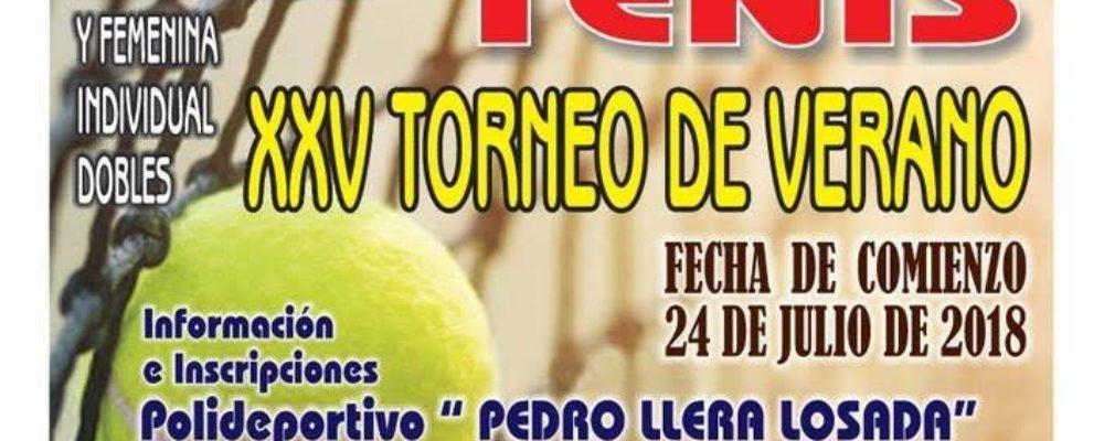 XXV Torneo de Tenis de Verano en Luarca