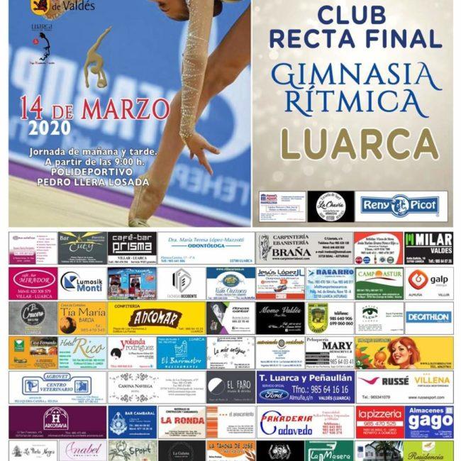 [APLAZADO] XXVII Torneo Club Recta Final Gimnasia Rítmica